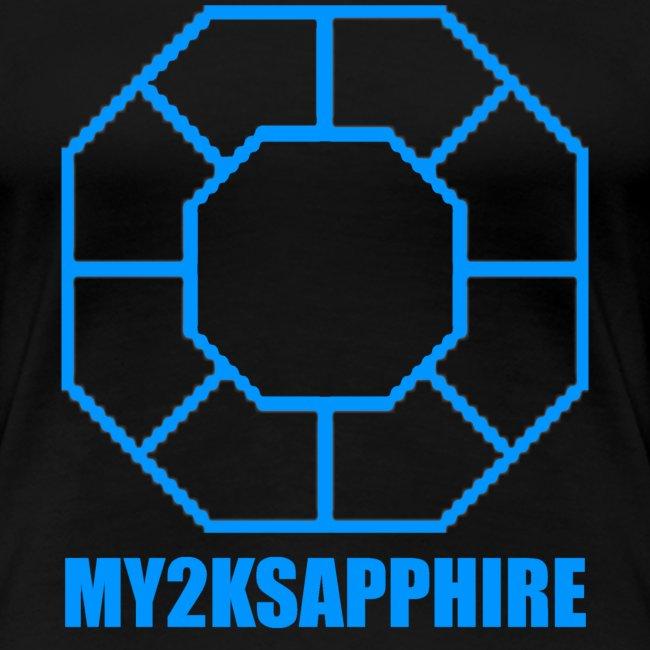 Unisex Blue Sapphire Hoodie