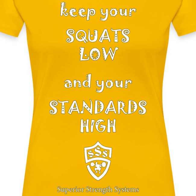 Keep Your Squats Low