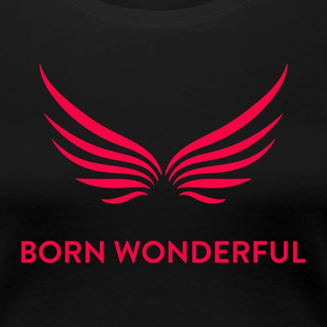 Red Born Wonderful Logo