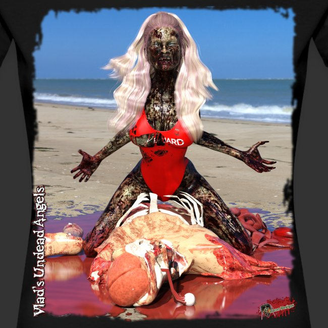 Undead Angels: Zombified Lifeguard Shay
