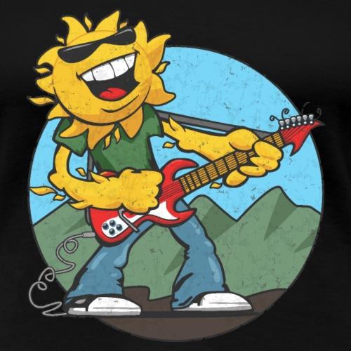 sun guitar rocker v1 t - Women's Premium T-Shirt