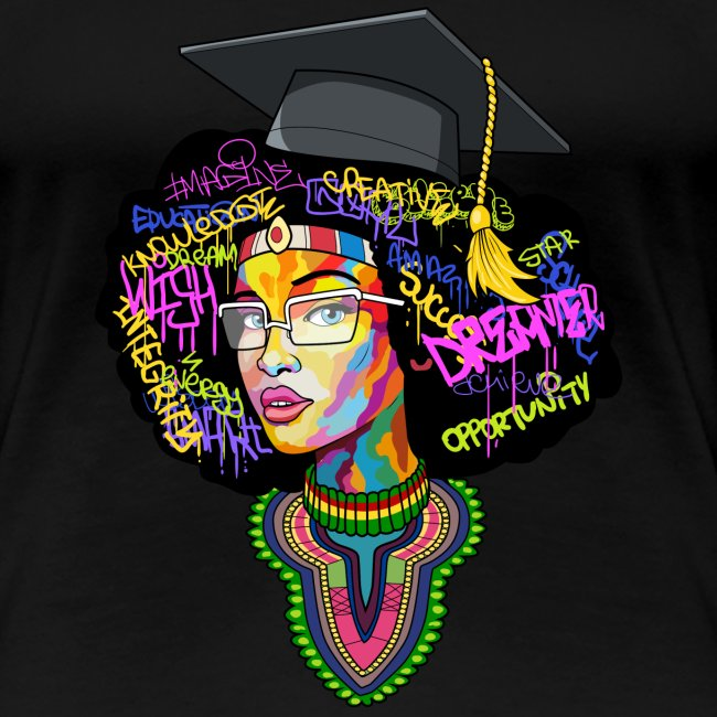 Melanin Women Afro Education