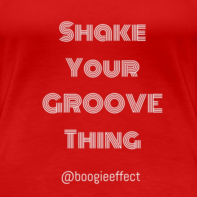shake your groove thing white