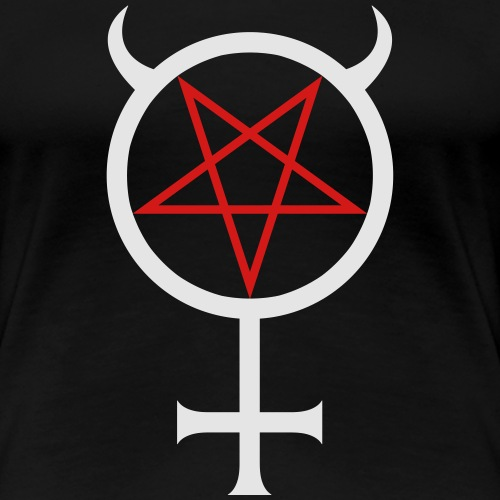 Mercury Pentagram - Women's Premium T-Shirt