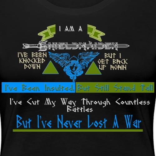 I Am A Shieldmaiden - Empowering Shirt for Women - Women's Premium T-Shirt