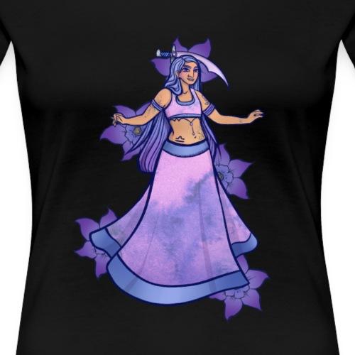 Libra Belly Dancer - Women's Premium T-Shirt