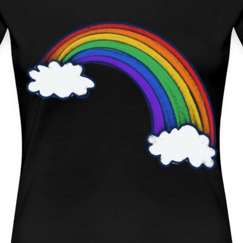 rainbow art - Women's Premium T-Shirt