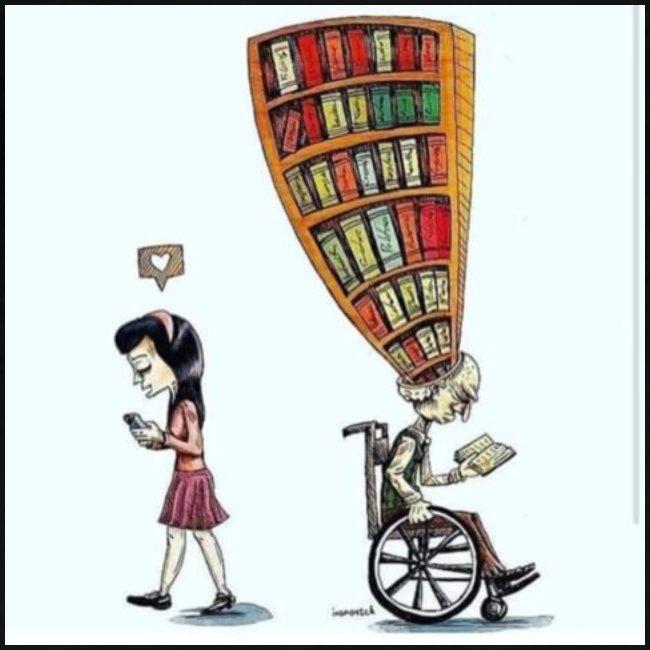 Less mobile more books