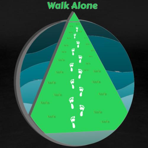 Walk Alone - Women's Premium T-Shirt