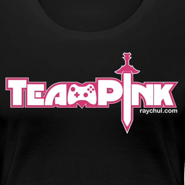 Team Pink shirt for girls!