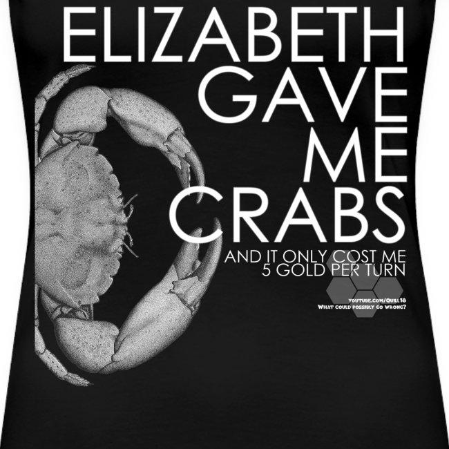 Crabs White Text