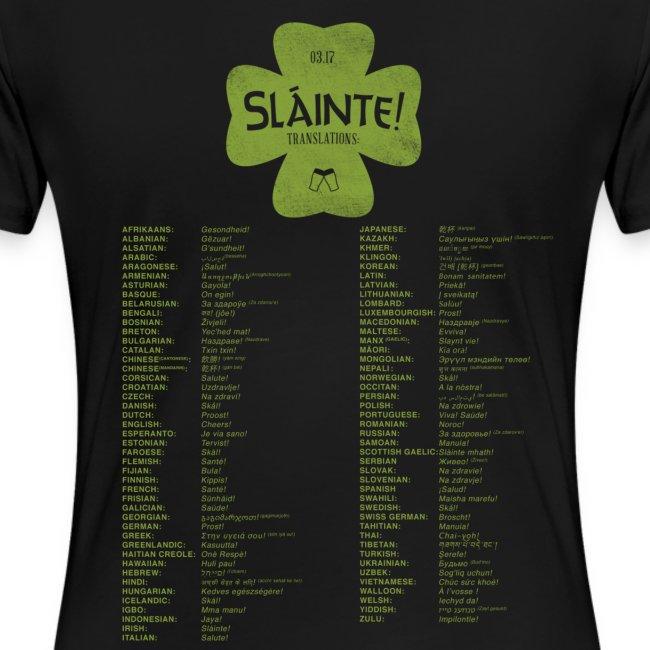 slainte green