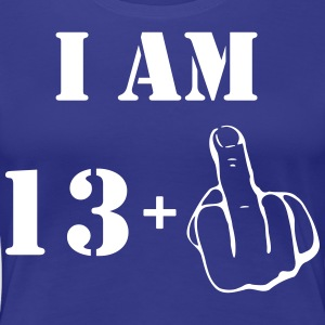 14th Birthday T Shirt 13 + 1 Made in 2003 - Women's Premium T-Shirt