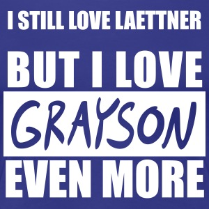 I Still Love Laettner but I Love Grayson Even More - Women's Premium T-Shirt