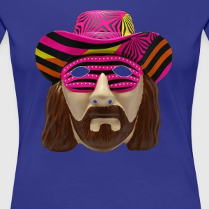 Macho Man Mask - Women's Premium T-Shirt