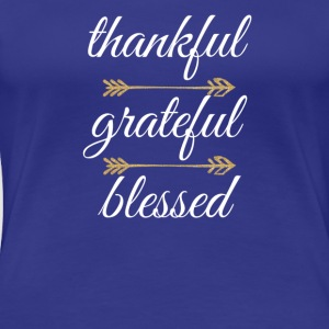 Thankful White - Women's Premium T-Shirt