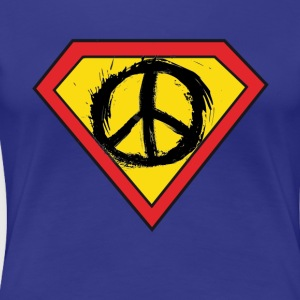 Super Hero of Peace - Women's Premium T-Shirt