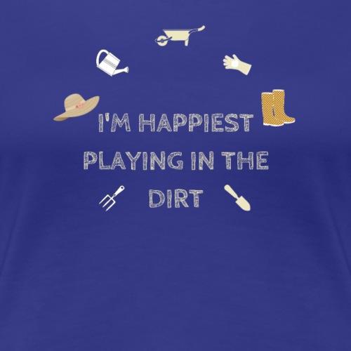 Happy Gardener Tee - Women's Premium T-Shirt