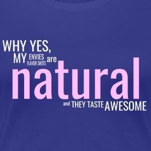 Edgy Natural White - Women's Premium T-Shirt
