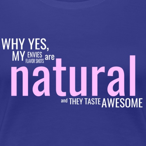 Edgy Natural White - Women's Premium T-Shirt