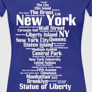 New York City (NY, NYC) - Women's Premium T-Shirt