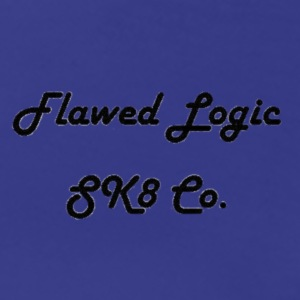 Flawed Logic SK8 Co. - Women's Premium T-Shirt