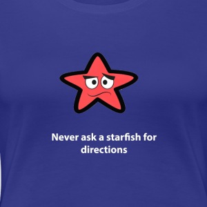 Starfish text - Women's Premium T-Shirt