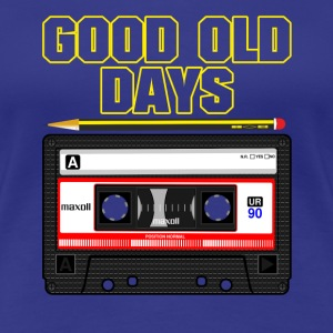 Good Old Days Tape - Women's Premium T-Shirt