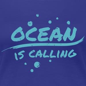 ocean is calling - Women's Premium T-Shirt