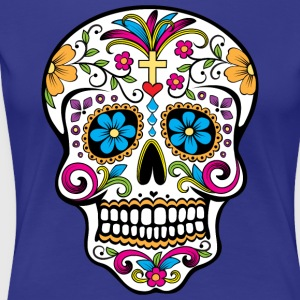 Colorful Sugar skull Special Limited Edition - Women's Premium T-Shirt