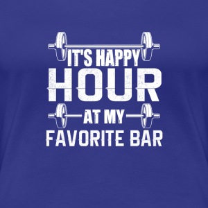 Gym Happy Hour Graphic Collection - Women's Premium T-Shirt