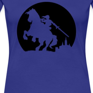 A Moonlight Ride - Women's Premium T-Shirt