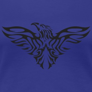 eagle flying tshirt - Women's Premium T-Shirt