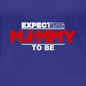 Funny Pregnancy Announcement T-Shirt for Mom - Women's Premium T-Shirt