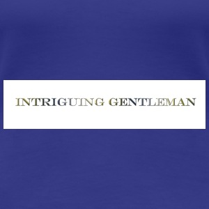 Intriguing Gentleman Tee - Women's Premium T-Shirt
