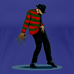 Freddy Krueger Dance - Women's Premium T-Shirt
