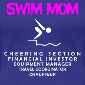 Swim Mom - Women's Premium T-Shirt