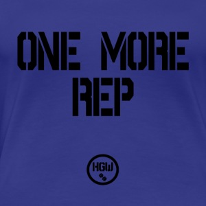 ONE MORE REP - Motivation - Women's Premium T-Shirt