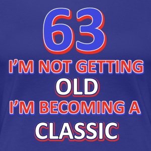 63rd birthday design - Women's Premium T-Shirt