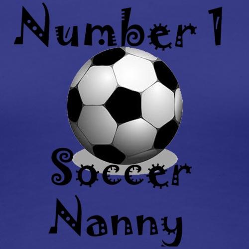 Soccer Nanny - Women's Premium T-Shirt