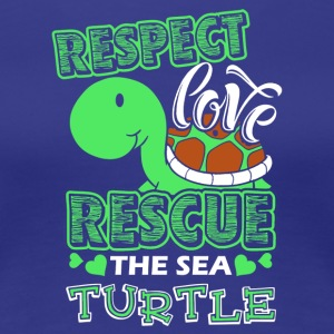 Sea Turtle Shirt - Women's Premium T-Shirt