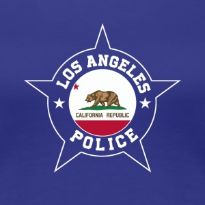 Los Angeles Police T Shirt - California flag - Women's Premium T-Shirt