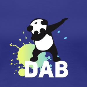 dabbing football touchdown mooving dance panda - Women's Premium T-Shirt