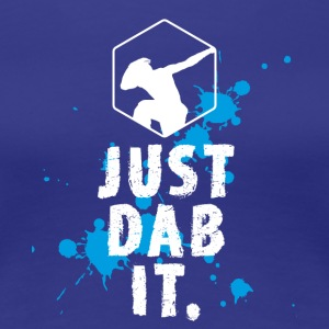 dab just dab it dabbing Football touchdown Panda - Women's Premium T-Shirt