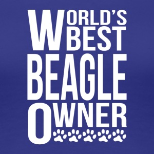 World's Best Beagle Owner - Women's Premium T-Shirt