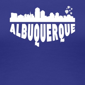 Albuquerque NM Cityscape Skyline - Women's Premium T-Shirt