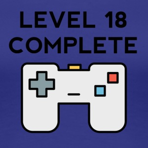 Level 18 Complete 18th Birthday - Women's Premium T-Shirt