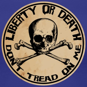 Liberty or Death Dont Tread On Me - Women's Premium T-Shirt