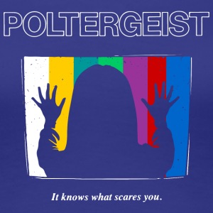 Poltergeist by Andre Moraes - Women's Premium T-Shirt
