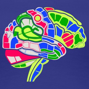 Brain Map - Women's Premium T-Shirt
